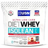 USN Diet Whey Isolean Complément pour Sportif Cherry Bakewell 1 kg