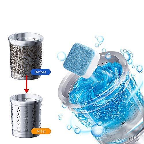 About1988 Professionelle Waschmaschine Reinigungstablette Tiefenfleckenentferner Waschmaschine Reiniger | Vollwaschmittel/Wäschespüler(Desinfektionsspüler für hygienisch saubere) (10PCS)