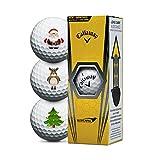 Callaway Warbird Christmas Golfbälle - 3er Pack