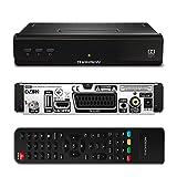 THOMSON THS210 HD Satelliten Receiver DVB-S2 (HDTV, SatCR, HDMI, USB, Koaxialausgang) schwarz