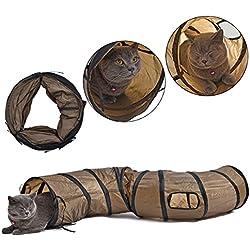 PAWZ Road El gato del tubo del gatito del túnel del gato del camino de PAWZ juega 25 * 120cm