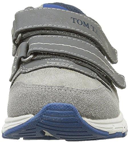 Tom Tailor 9671104, Baskets Basses garçon Gris (Coal)