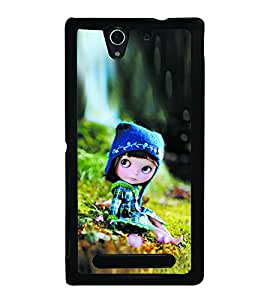 Cute Doll Back Case Cover for SONY XPERIA C3