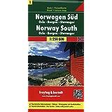 Berndt  Freytag Autokarten, Blatt 1: Norwegen Süd - Oslo - Bergen - Stavanger - Maßstab 1:250 000