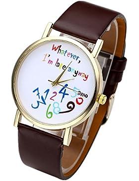 JSDDE Uhren,Stilvoll Vintage