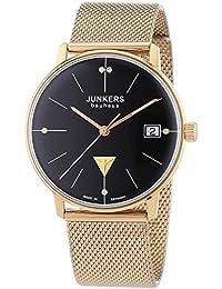 Junkers Damen-Armbanduhr XS Bauhaus Analog Quarz Edelstahl 6075M2