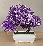 #10: TIED RIBBONS Bonsai Plastic Grapes Artificial Plants