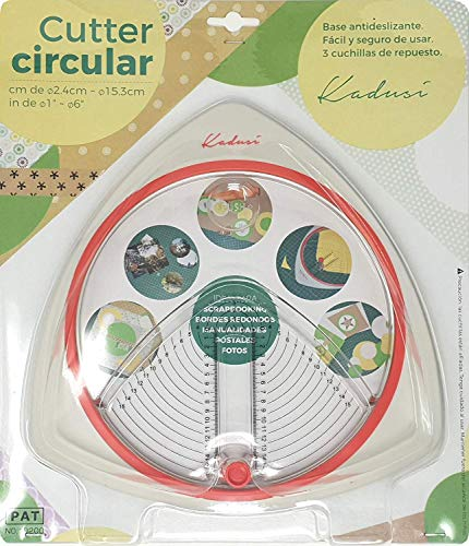 Cutter circular hacer círculos perfectos. Hacer círculos