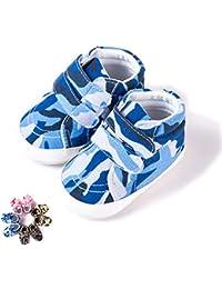 322add843e15a Morbuy Chaussures Bébés Unisexe Enfants Garçons Filles Camouflage Nouveau  Né Toddler Fond Mou Antidérapant Premières Pas