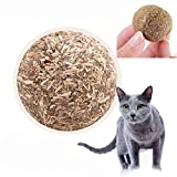 Twinkling Stars gato menta Ball Play Toys con revestimiento con Catnip y Bell Juguete para Mascota Kitty