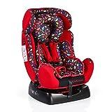 Kindersitz Guardian Gruppe 0/1/2 (0 - 25 kg) mit Kopfpolster von 0 bis 7 Jahre rot