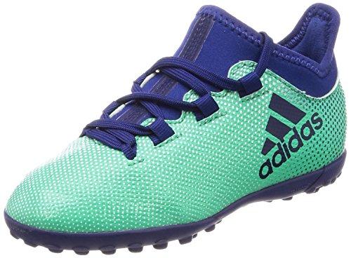 Adidas X Tango 17.3 TF, Zapatillas de Fútbol Unisex Niños, Verde grün/Blau grün/Blau, 37 1/3 EU...