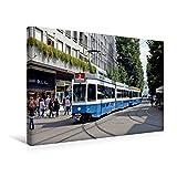 Premium Textil-Leinwand 45 cm x 30 cm quer, Zürich (Schweiz)   Wandbild, Bild auf Keilrahmen,...