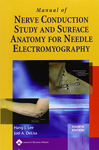 Manual Of Nerve Conduction Study And Surface Anatomy For Needle Electromyography por Vv.Aa