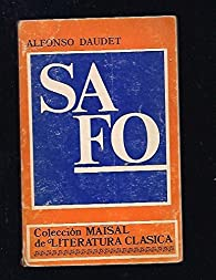 Safo par Alphonse Daudet