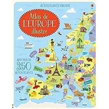Atlas de l'Europe illustré - Autocollants Usborne