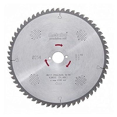 Metabo 628031000 160 x 20 24 WZ HW/CT Circular Saw Blade