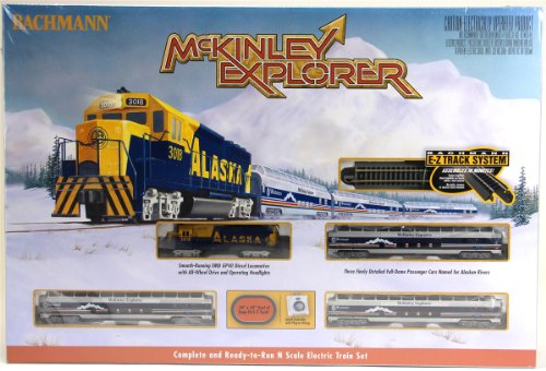 Bachmann Industries McKinley Explorer Ready to Run Set Treno Elettrico Treno Auto Scala N