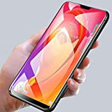 SmartLike 5D 9H Full Glue Edge to Edge Tempered Glass for One Plus6, One Plus 6, 1+6, One+6 - Black