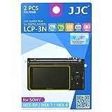 JJC LCP-3N ultra hard polycarbonate LCD Film Screen Protector For Sony NEX-3N NEX-7 NEX-6 (2 Kits)