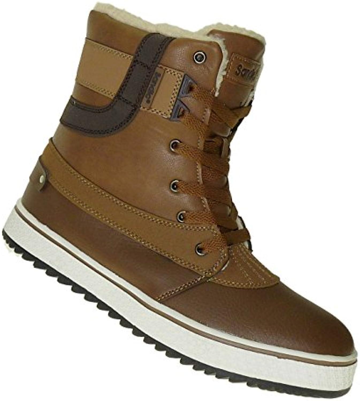 Art 454 Winterstiefel Outdoor Boots Stiefel Winterschuhe Herrenstiefel Herren