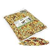 AniForte Natur Nagerfutter 10 Liter NACHFÜLLPACK u.a. für Hamster, Meerschweinchen, Kaninchen, Chinchilla- Naturprodukt für Nager