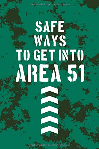 Safe ways to get into area 51: Of course, there are only empty pages!