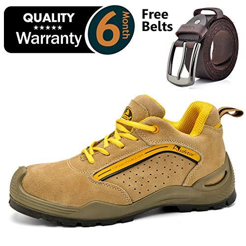 9496f94d Zapatos de Seguridad Deportivos para Hombres - 7296Y Calzados de Seguridad Trabajo  S1P con Puntera de