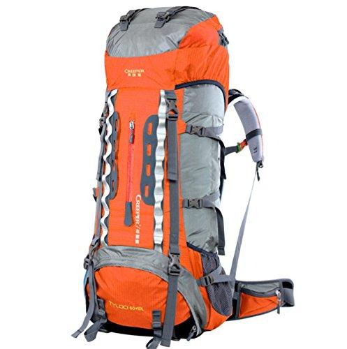 Taschen lose Langstrecken Wandern Camping Reisen Kletterrucksack Orange