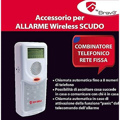 ANTIFURTO DOMESTICO-COMBINATORE TELEFONICO Confezione da 1PZ
