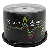 Xlayer CD-R 80 Vinyl-Look CD-Rohlinge (50er Pack)