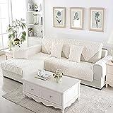 Plüsch Sofaüberwurf Für haustier hund Ganze saison Schnittsofa werfen abdeckung pad Anti-rutsch Slipcover u-form L-form Couch abdeckung-1 stück-D 28x59inch(70x150cm)
