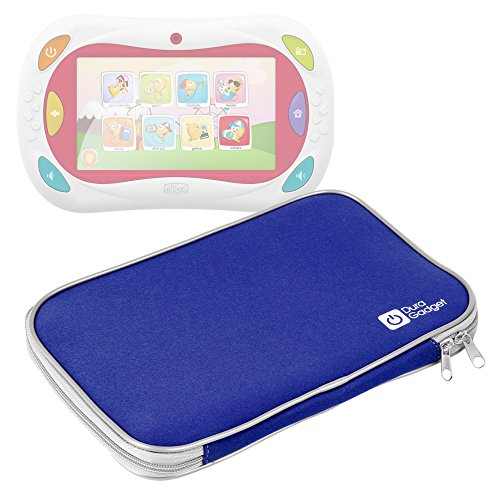Custodia Per Chicco 5710 | 00007579200000 | Happy Tab Blocks - Gioco Happy Tablet - Versione 2016 / 2015 / 2014 - Blu - DURAGADGET