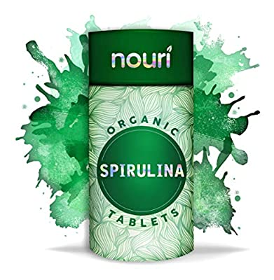 Super Premium Organic Spirulina Tablets (1000 x 500mg) | 6 Month Supply | Certified Organic | Non-GMO | Natural Source of Vegan Protein, Iron & Vitamins |