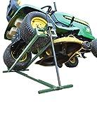 Lève tracteur Tondeuse | Lève tondeuse télescopique - Gain de place 30% | Supporte 400 kg max | NOUVEAU