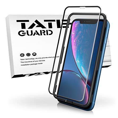 TATE GUARD kompatibel mit Panzerglas kompatibel i'Phone XR Displayschutz,matt entspiegelt,Anti-Fingerprint,Anti-Spy,Anti-Scratch,9H Härte,2.5D,Keine Blasen, kompatibel mit 3D Touch Kontrolle -