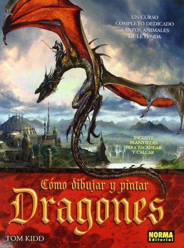 CÓMO DIBUJAR Y PINTAR DRAGONES (LIBROS TEÓRICOS EUROPEO)