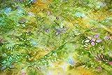 Bali Batik Floral Leaf Print 100% Premium Baumwolle