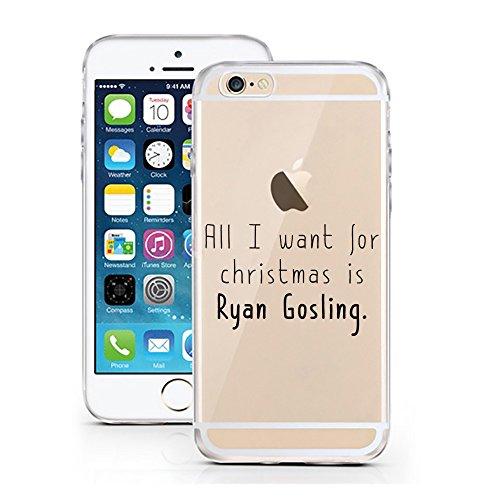 iPhone 7 Hülle von licaso® für das Apple iPhone 7 aus TPU Silikon SW Stern Star Krieg Wars Muster ultra-dünn schützt Dein iPhone 7 & ist stylisch Schutzhülle Bumper in einem (iPhone 7, SW) Ryan Gosling for Christmas