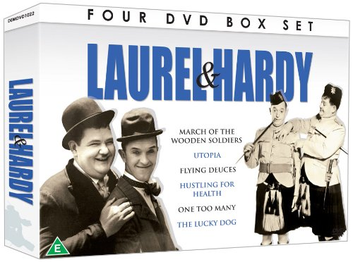 Laurel And Hardy - Collection [4 DVD Gift Set] [UK Import]