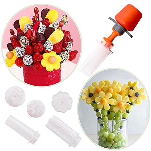 CARETHYS careth Neue kreative Kunststoff Kuchen Cookie Gemüse Obst Form Cutter Schneide Gemüse-Form Set DIY Dekorieren Tools