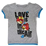Disney Little Mädchen Grau Royal Blau Angry Birds Charakter Print T-Shirt 4?6 x