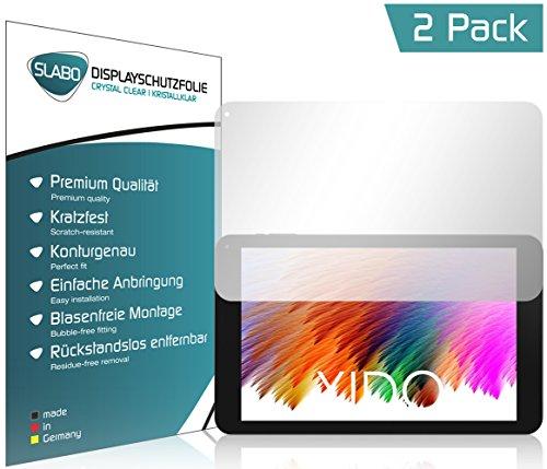 Slabo 2 x Bildschirmschutzfolie XIDO X111 IPS Bildschirmschutz Schutzfolie Folie Crystal Clear unsichtbar Made IN Germany