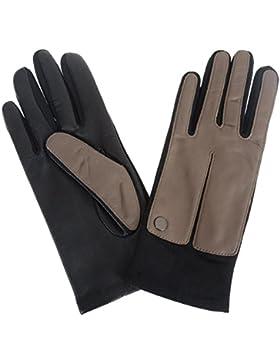 Roeckl Sportive Touch 13012-382 Damenhandschuhe schwarz/taupe Gr.6,5