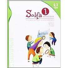 Solfa música 1º primaria (Educación Primaria) - 9788426813558