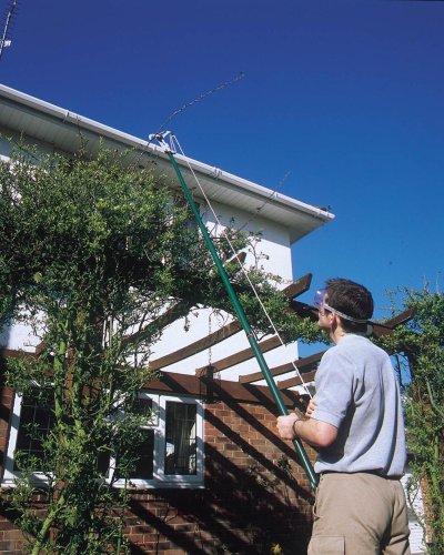 Draper 33855 – Tijeras de podar telescópicas para árboles (2,900 mm, capacidad de corte de 32 mm)