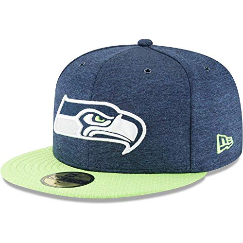 New Era Seattle Seahawks 59FIFTY Cap 2018 Sideline Fitted  -
