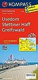 KOMPASS Fahrradkarte Usedom, Stettiner Haff, Greifswald: Fahrradkarte. GPS-genau. 1:70000: Fietskaart 1:70 000 (KOMPASS-Fahrradkarten Deutschland, Band 3023)