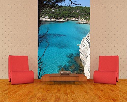 """Preisvergleich Produktbild Bilderdepot24 Vlies Fototapete """"Menorca"""" 65x100 cm- direkt vom Hersteller, inklusive Kleister"""
