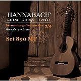 Hannabach 653089 - Juego de cuerdas para guitarra en Sol, 3/4 (tensión media)